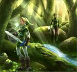 The legend of zelda : lost wood