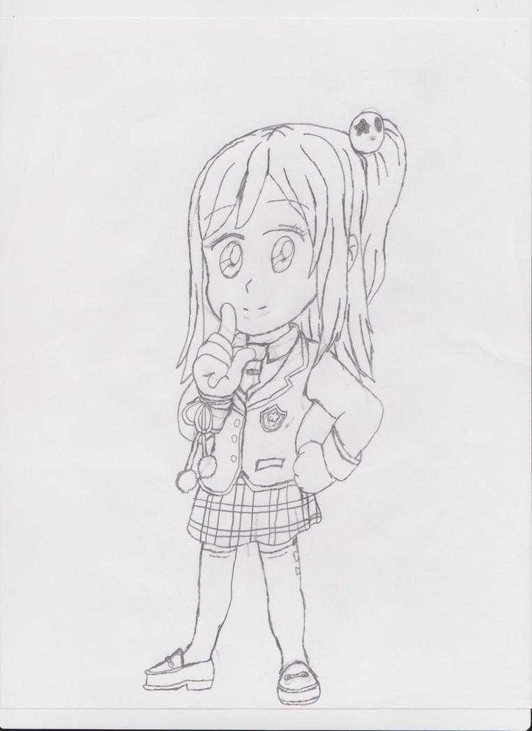 Honoka of Dead or Alive (Chibi Form) by LeiFangHelenaFan