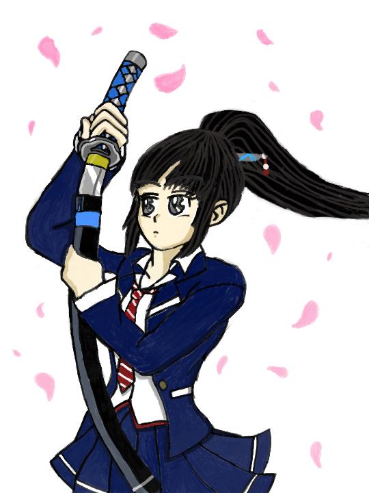 Misa of Mitsurugi Kamui Hikae by LeiFangHelenaFan