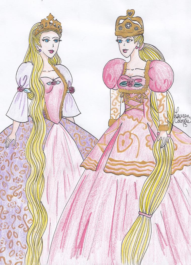 Barbie as rapunzel by rapunzelnomore on deviantart for Barbie as rapunzel coloring pages