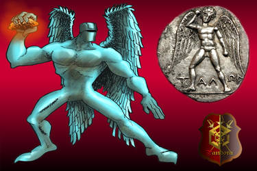 Talos's design: first version by Karavna