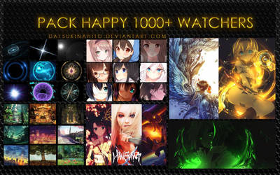 Pack happy 1000+ watchers