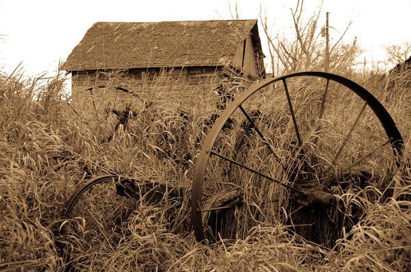Plough of Time by smilingBuDDha