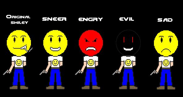 Mr. smiley II face styles by Suraku-kun