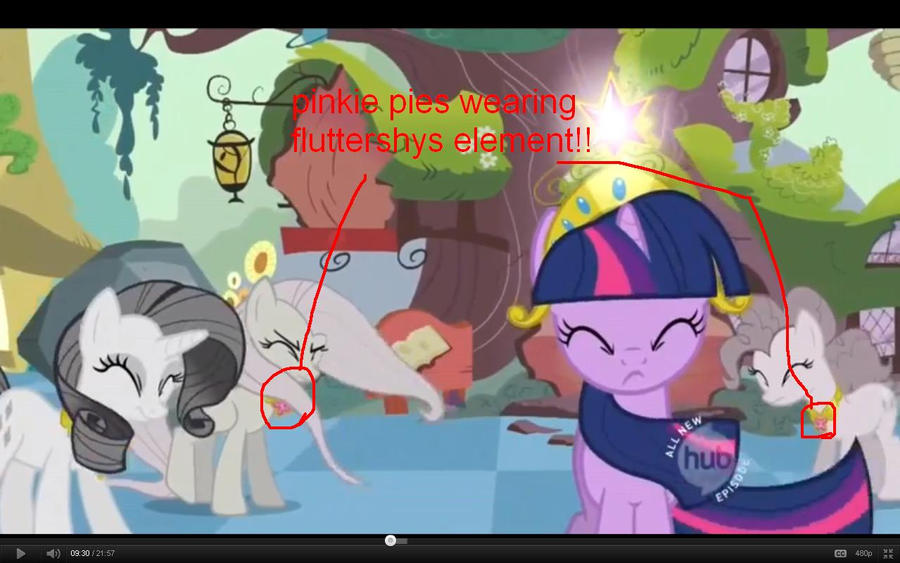 error in mlp fim episode 2 season 2 by uxie126 on deviantart