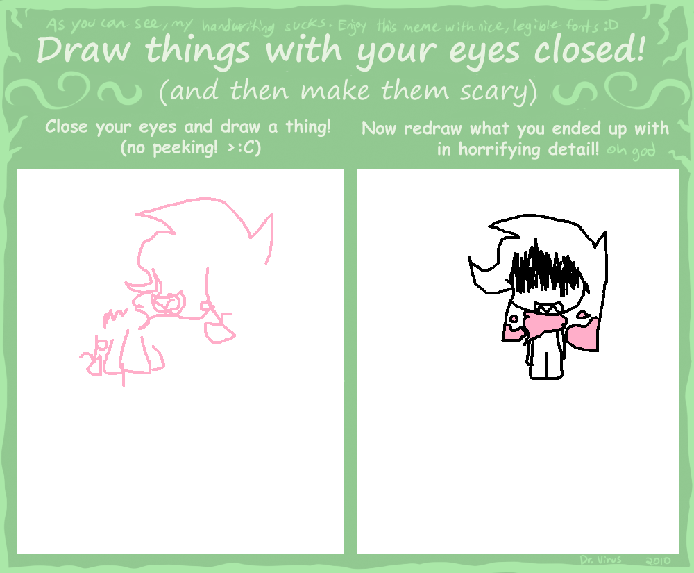 how to draw closed eyes
