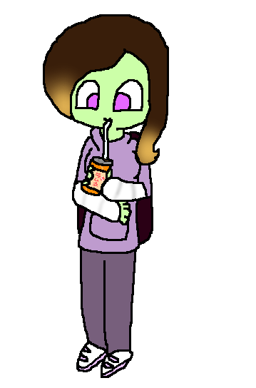 Drinking Soda like a Boss by Uxie126