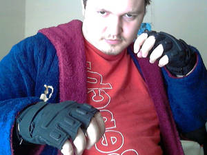 New fingerless gloves 8D