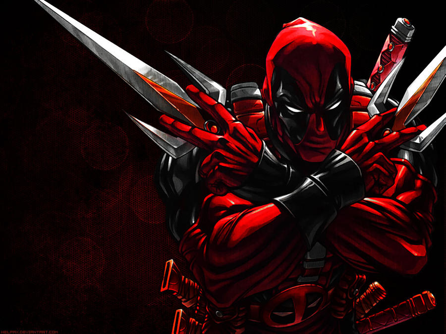 DeadPool Wallpaper by Helpax