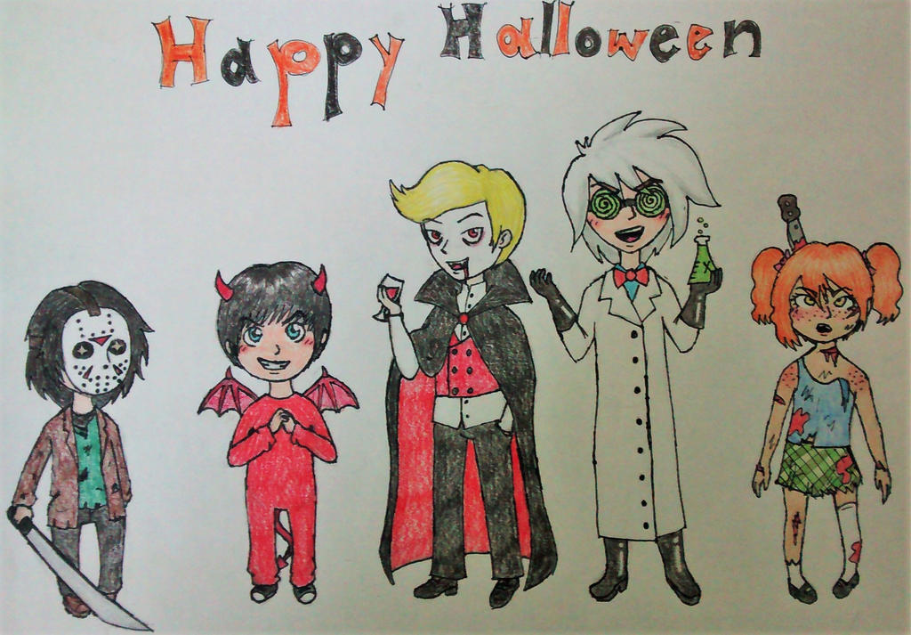 Happy Mafia Halloween!!! by sofalart