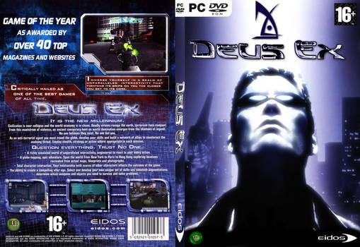 Deux Ex DVD fan art