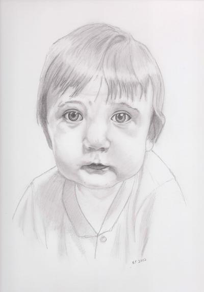 Portrait: Edward Myers Hartman by SeraphSisters