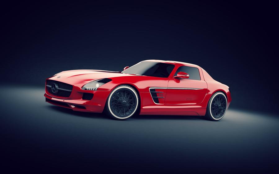 Mercedes SLS AMG by Teddyboer