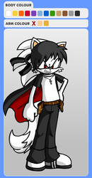 KJ The Hedgecat Super Form(WITH CAPE!!) by Kenneth-Setser