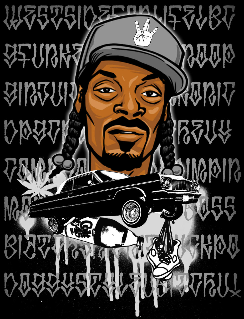 snoop doggy dogg by dns5 on deviantart