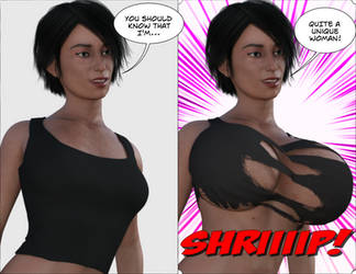 Breast Expansion - Unique! by Fempowerment2020