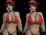 Bikini Erin - Big and Bigger!