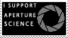 Aperture Science Stamp by The-Scary-Sister