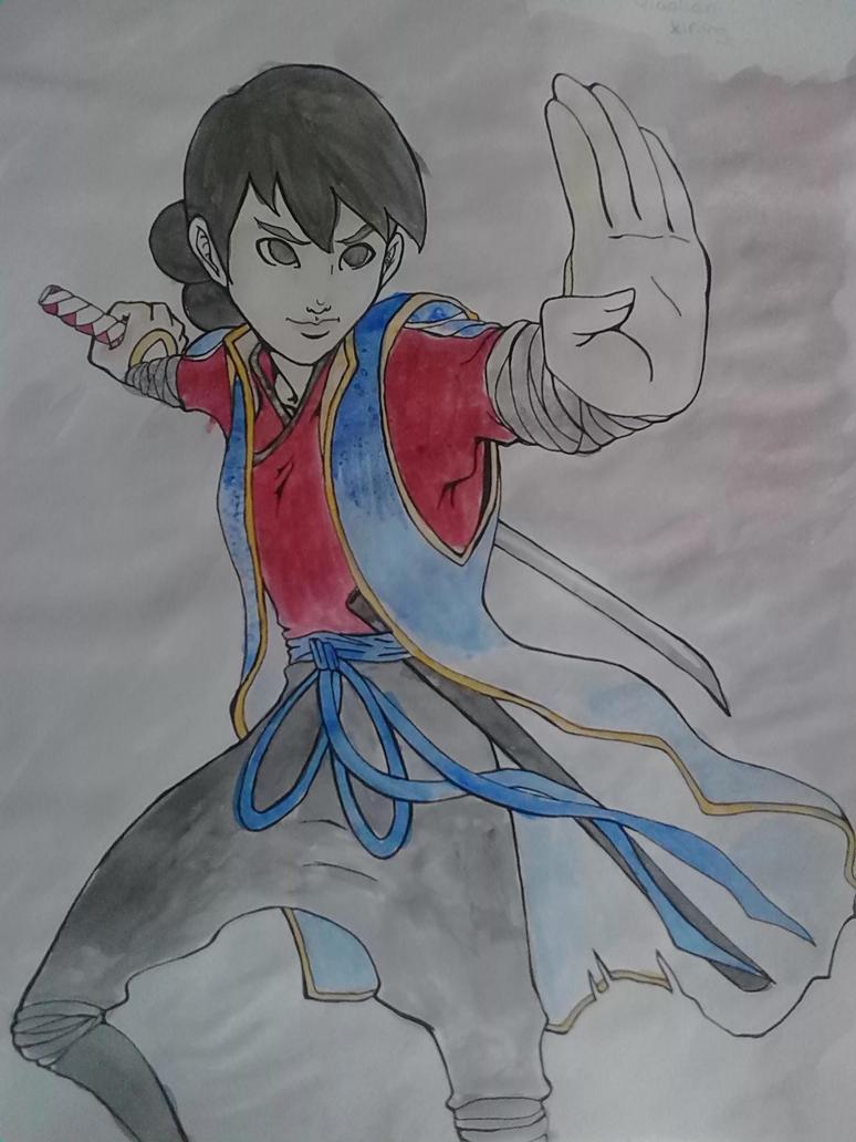 QiaoLian-Teen(color) by courtneynotdumb