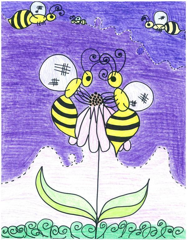 Bees by readheadgirl