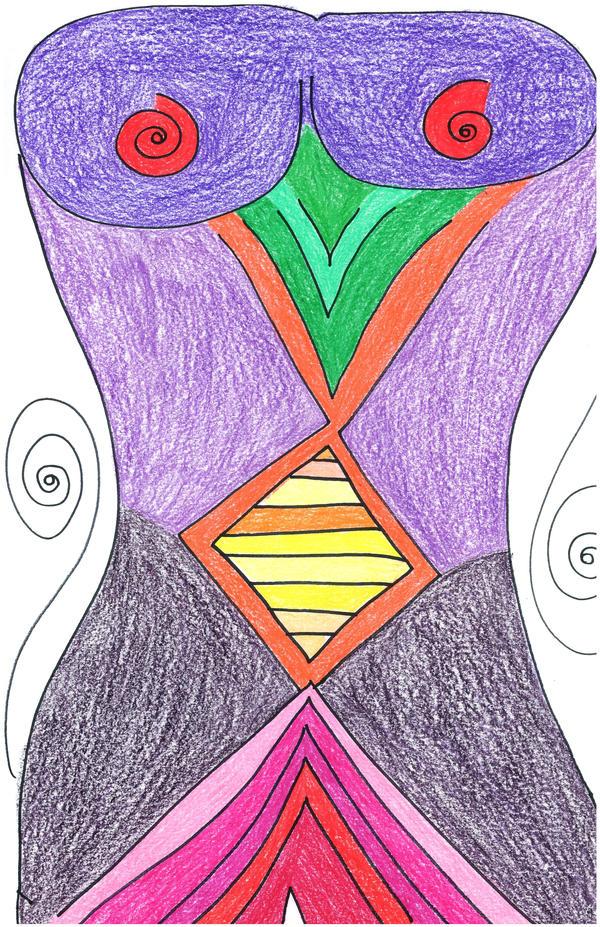 Goddess Figure by readheadgirl