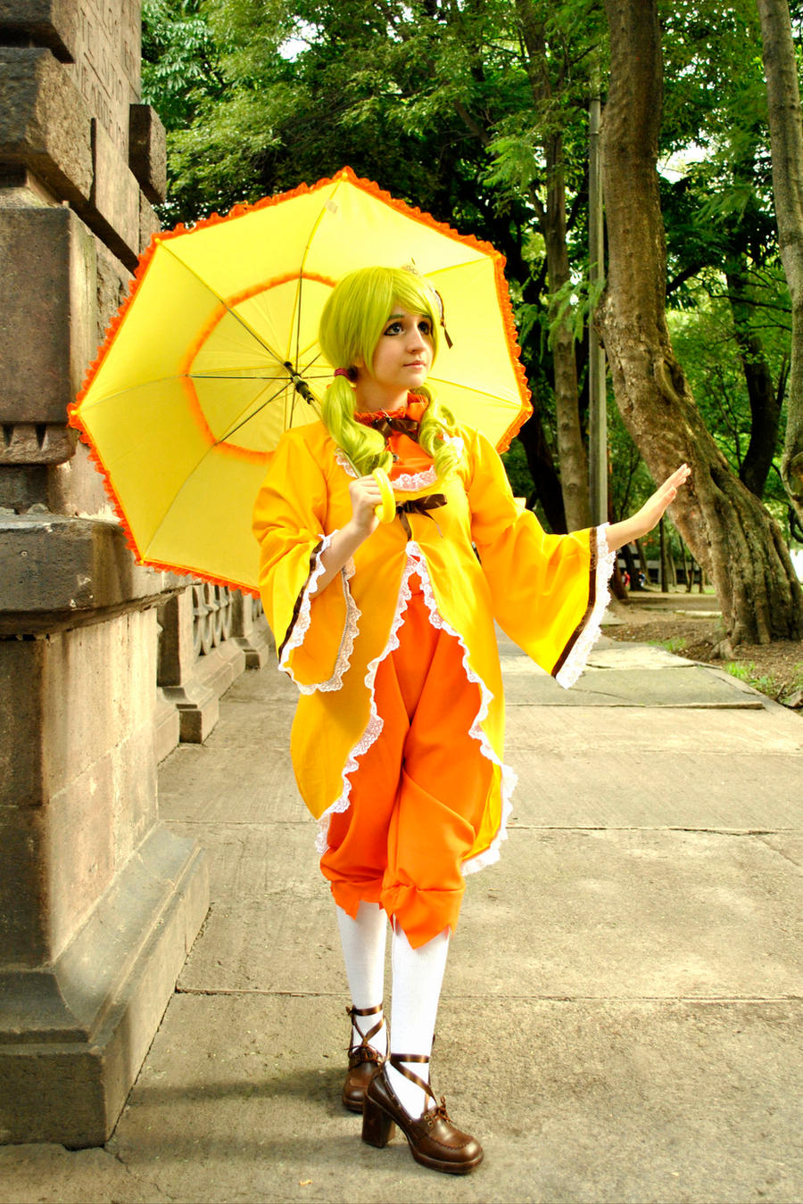 kanaria cosplay by sanchanclau