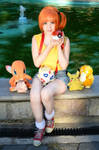 Misty pokemon cosplay
