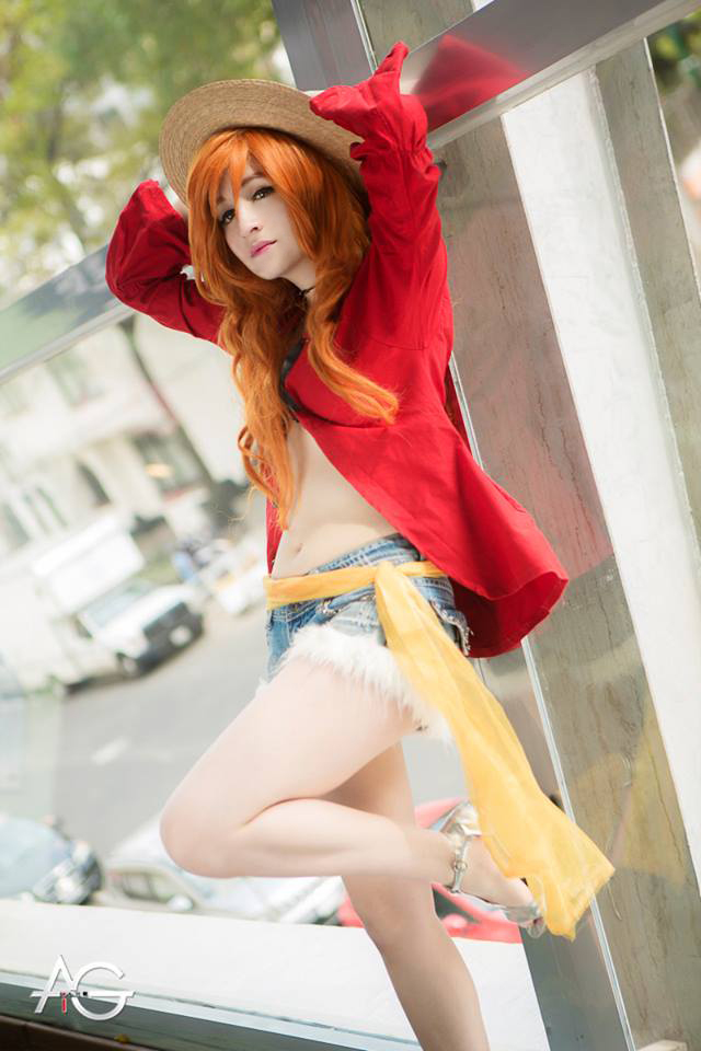 Nami - Luffy Clothes - Cosplay by sanchanclau