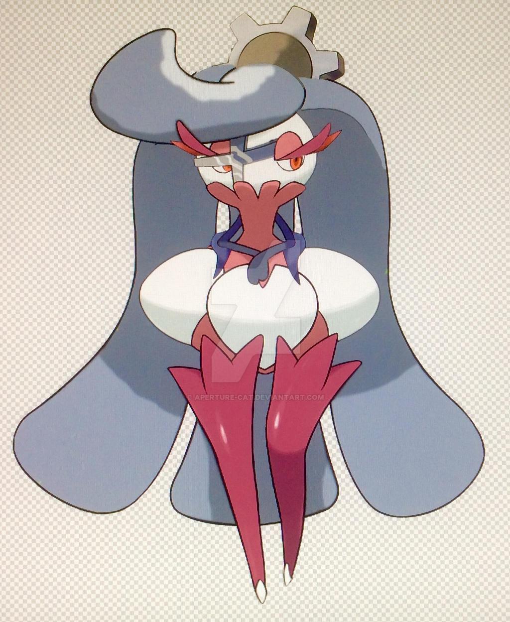 Steel-Type Tsareena (Pokemon Type Swap) by Aperture-Cat