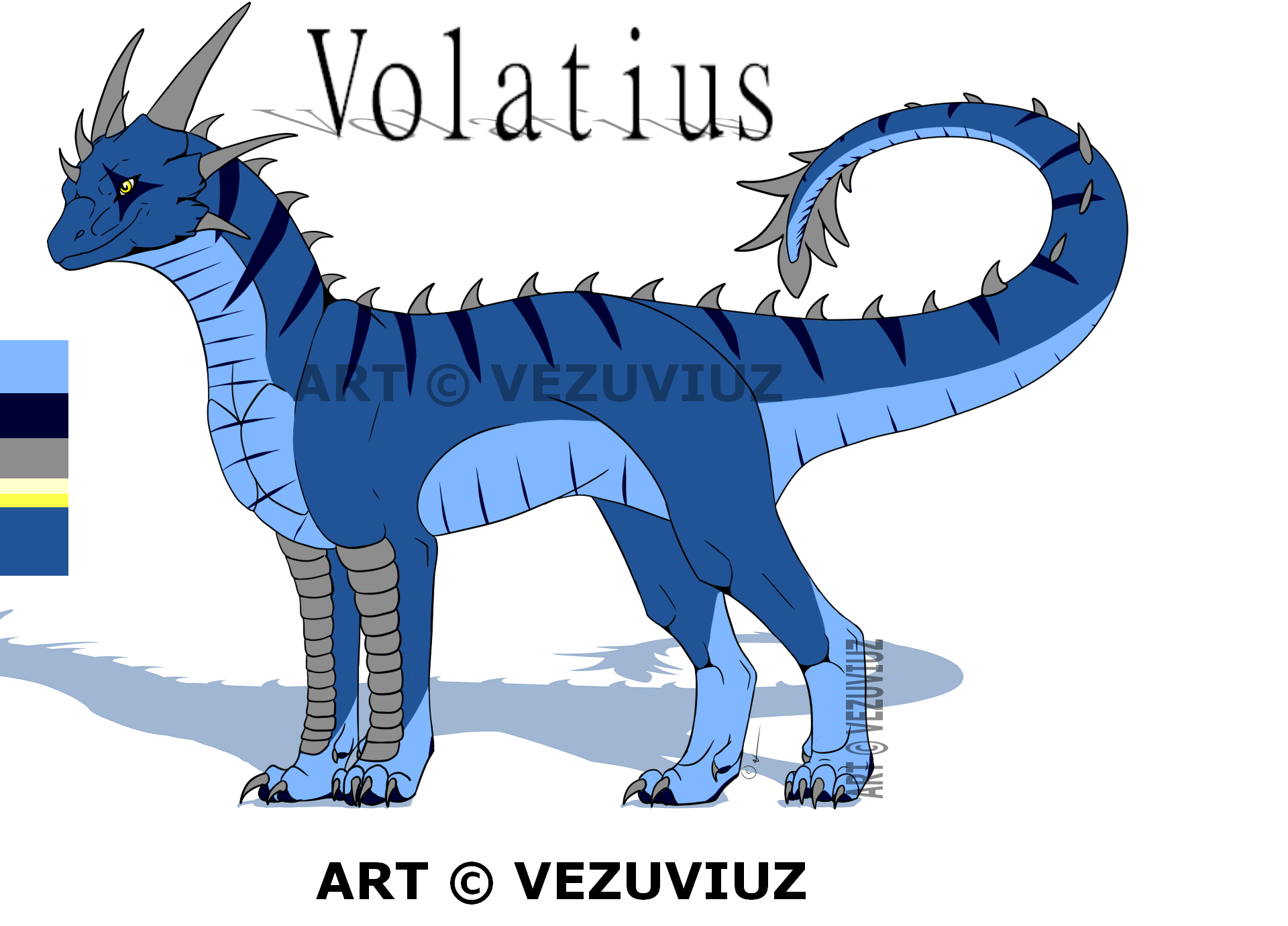 Volatius's new Design by DracoAndGrace
