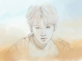 JUNGKOOK IDOL MV SKETCH