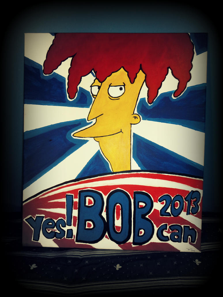 Bob for President by Kugelschrei