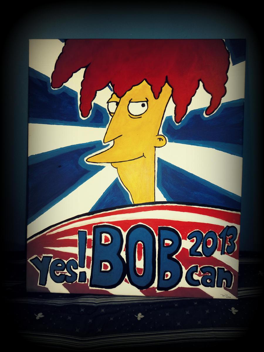 Bob for President by Kugelschrei