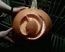 Nightmare Night Pumpkin by MicroNekoGirlPur