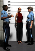 Columbia gets arrested 01 by hookywooky