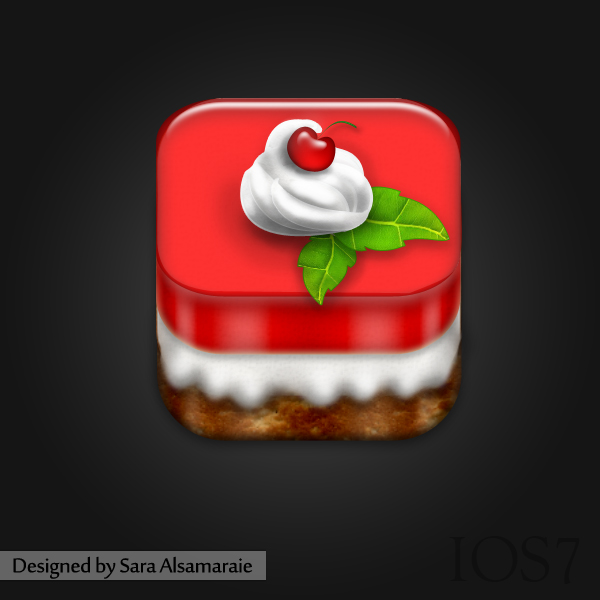 Jello Cake Icon by rosesfairy