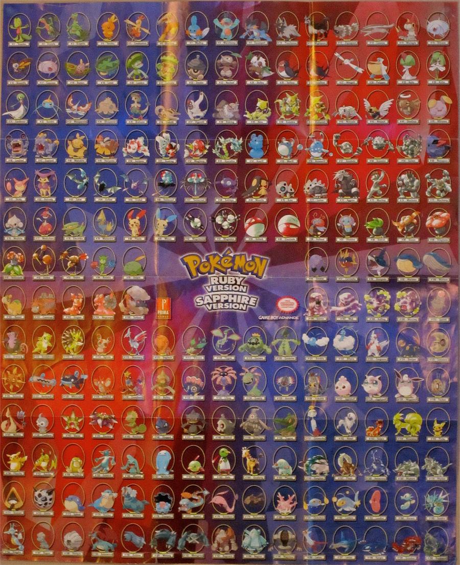 Pokemon Ruby Poster Images Pokemon Images
