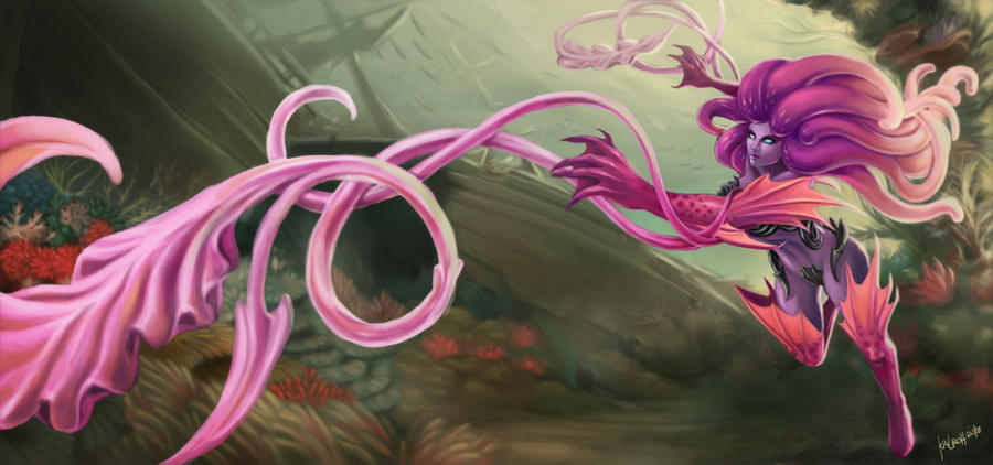 Fan Art: Anemone Zyra League of Legends by Jepoykalboh