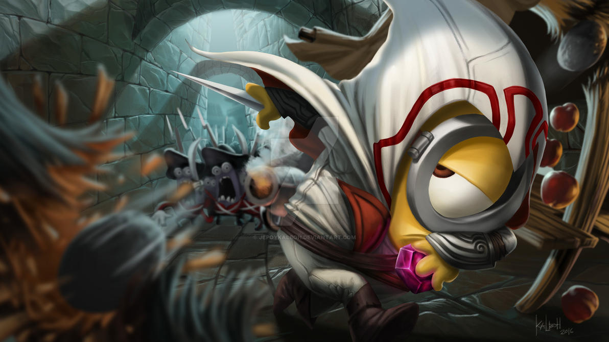 Minion Assasins Creed by Jepoykalboh