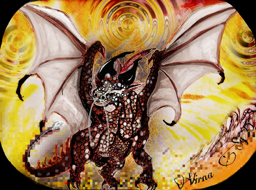 Dragon stone... by virnagray