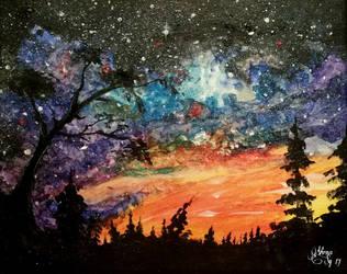 A night full of stars by virnagray