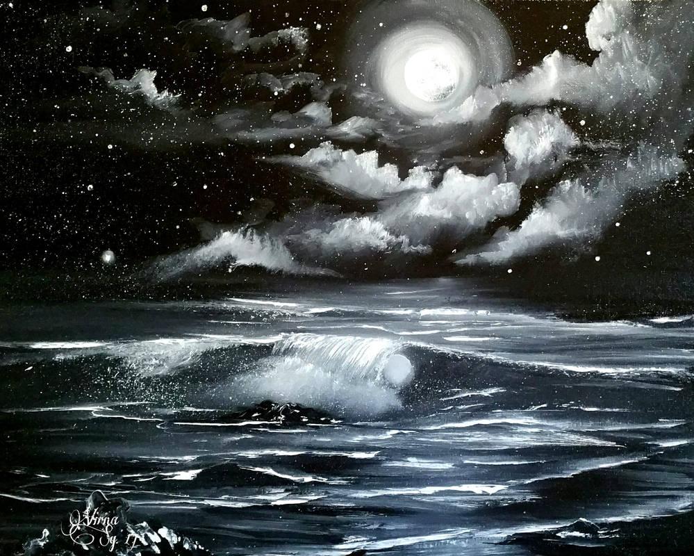 Full moon. by virnagray