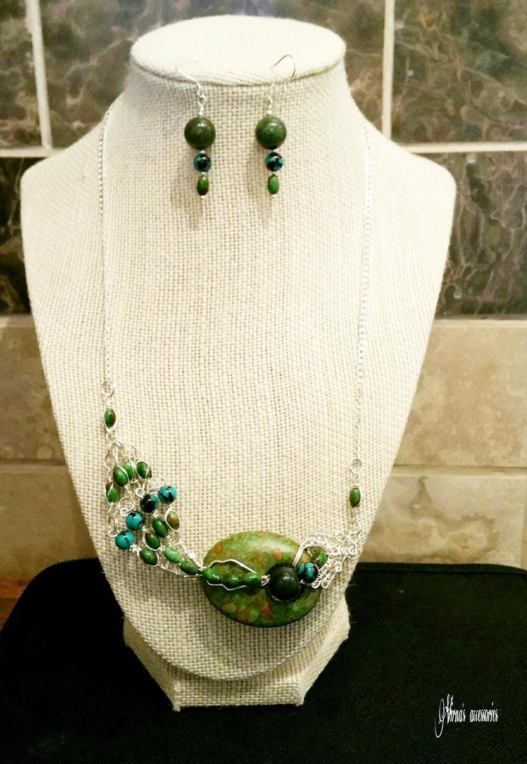 Wild green set. by virnagray