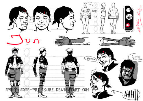 character sheet: Jun