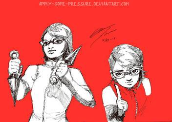 Uchiha Sarada - She's ready! by Apply-Some-Pressure