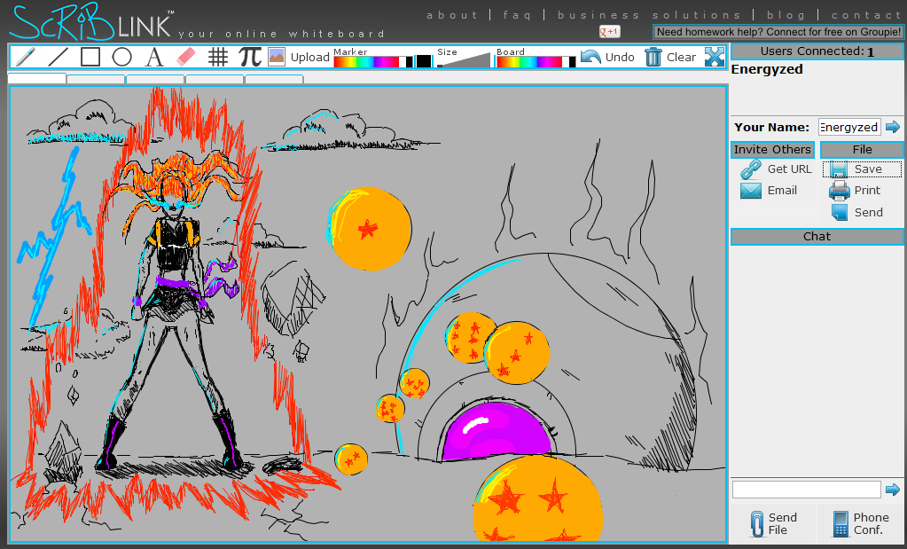 Saiyan Fusion Attacks! by Energyzed