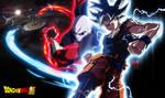Goku Ultra Instinct VS Jiren