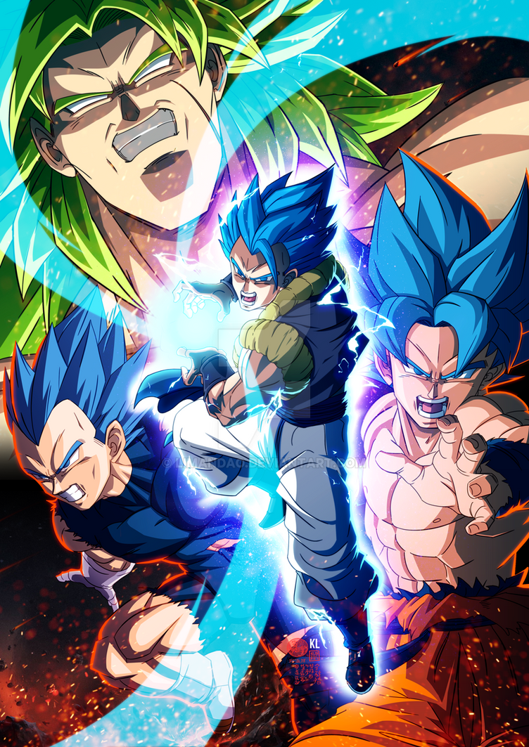 Dragon Ball Super Broly Poster By Limandao On Deviantart