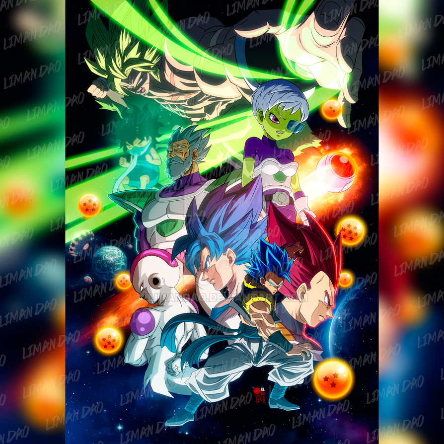 Dragon Ball Super Broly Final Poster by limandao
