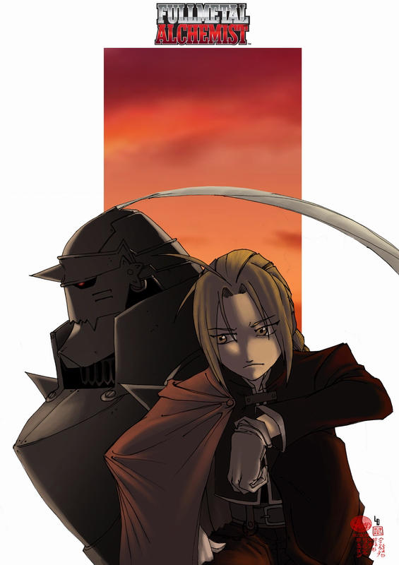 Elric brothers by limandao